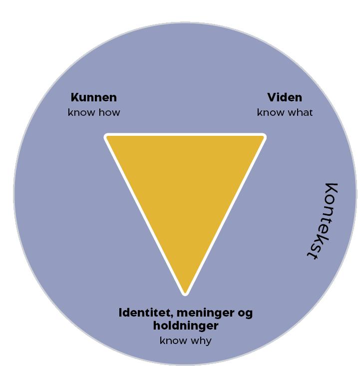 Kompetencer defineres ud fra what, how og why
