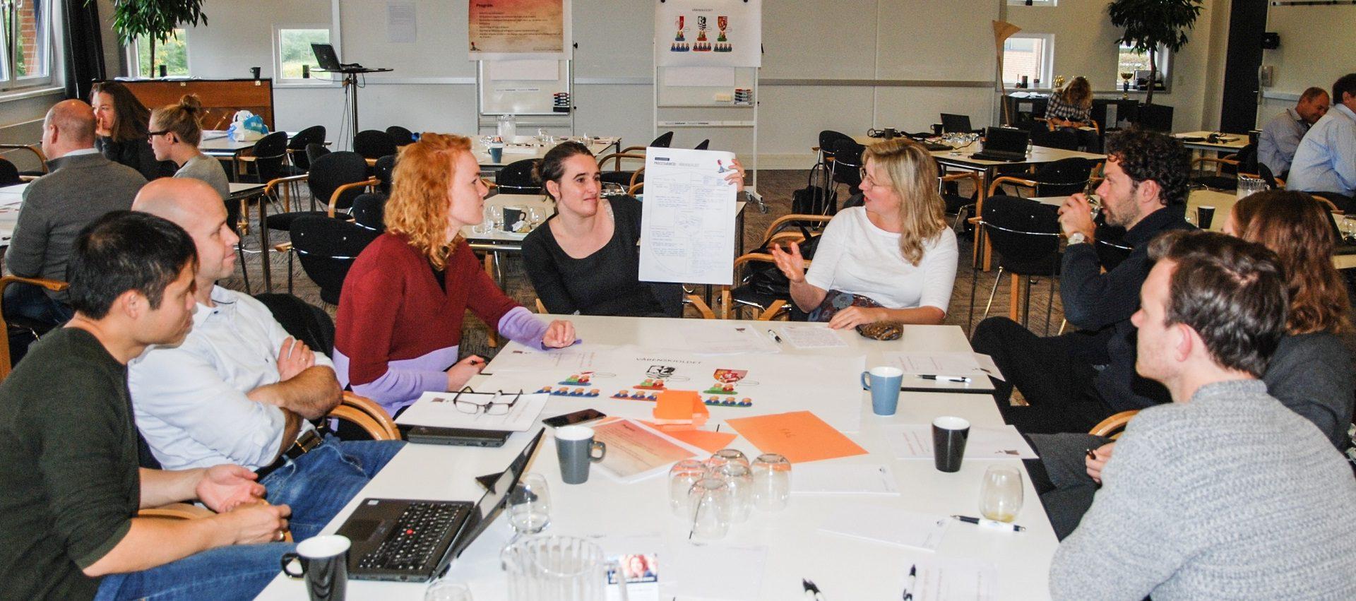 Styrelsen for Undervisning og Kvalitet på workshop om samarbejde og videndeling på tværs