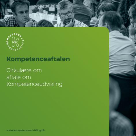 Foto der viser forsiden af Kompetenceaftalen