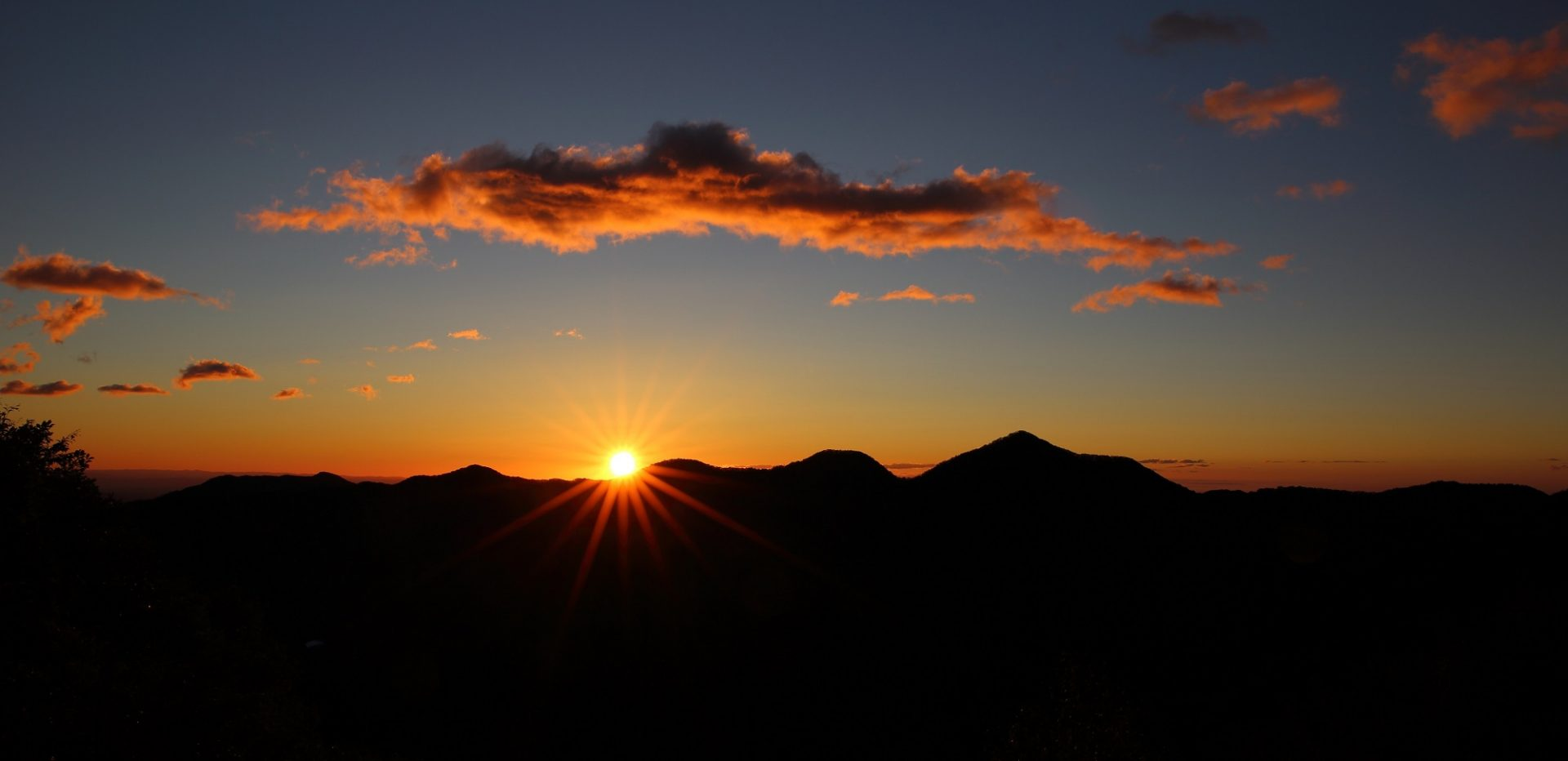 Solnedgang eller måske en solopgang?