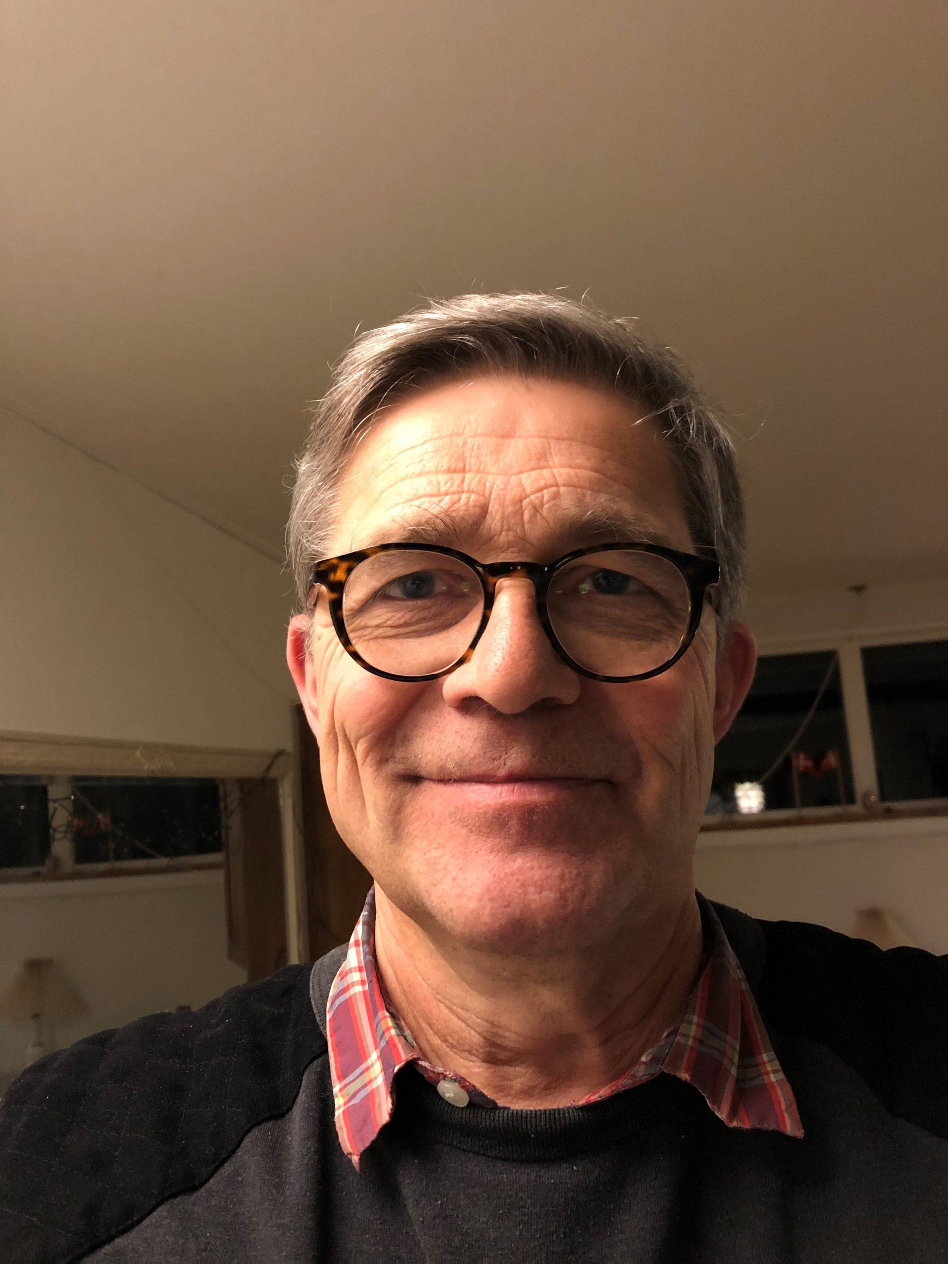 Portrætfoto af Kjeld Melchior Christiansen