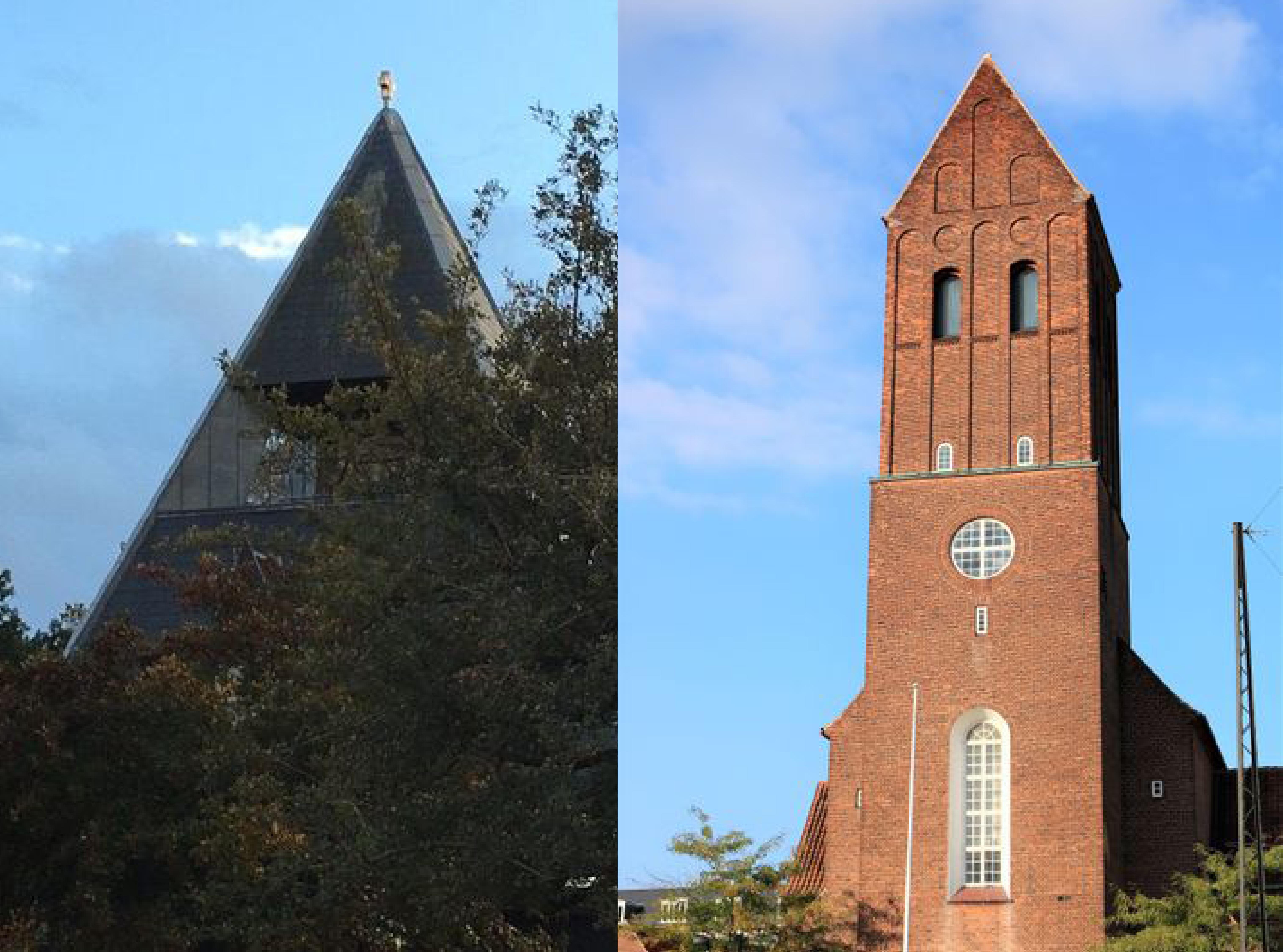 lundehus og taksigelses kirkerne